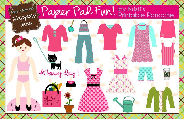 we are paper.dolls.obsessed. and by we, i really mean, i am obsessed. i have so many good memories of cutting carefully and spending hours...