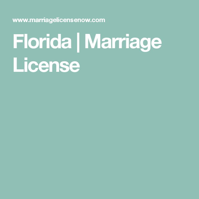 Florida | Marriage License | Miss to Mrs | Pinterest | Marriage license