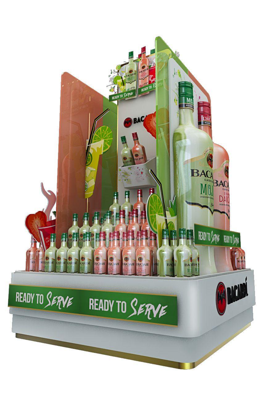 Posm Floor Stand Liquor Displays Pinterest # Muebles Martinez Y Riquelme