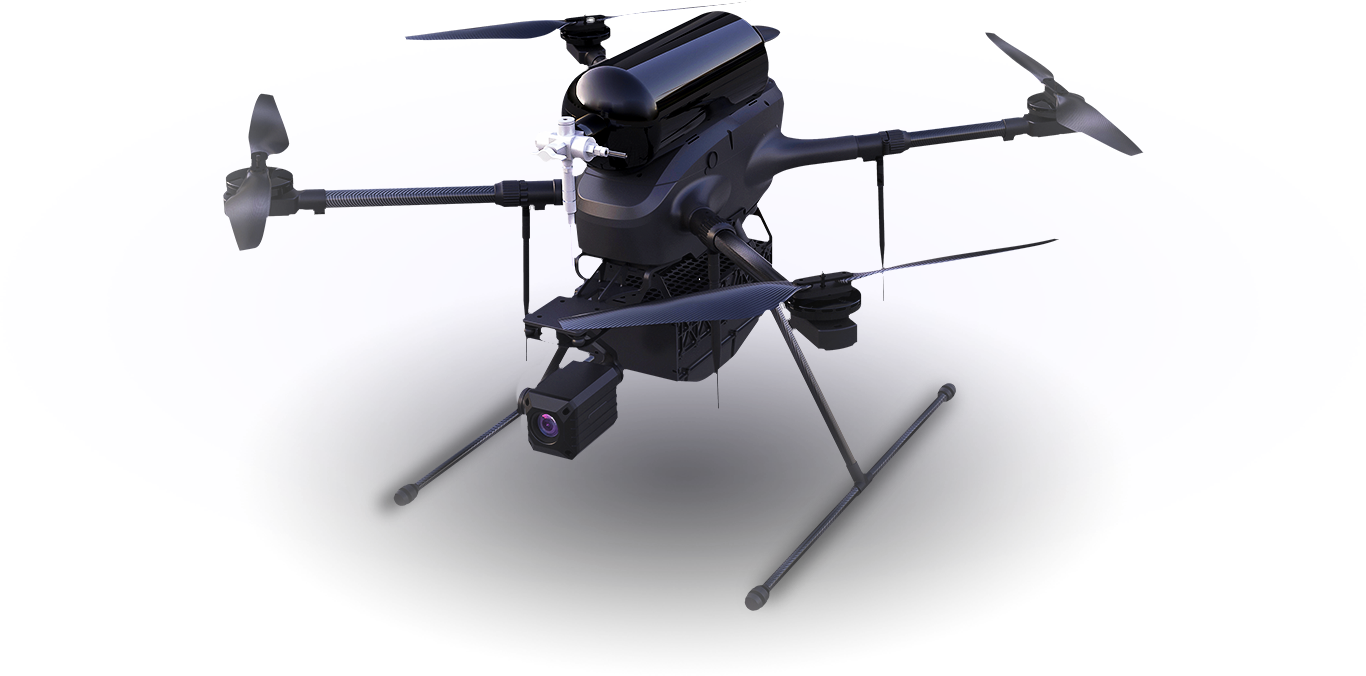 Video Bshark Launches New Hydrogen Powered Drone