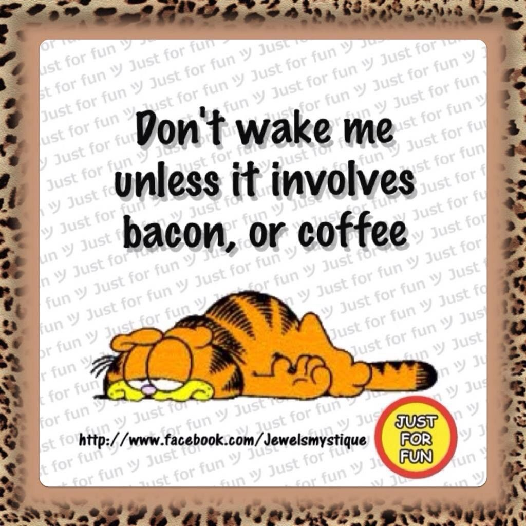 Don't wake me unless ...