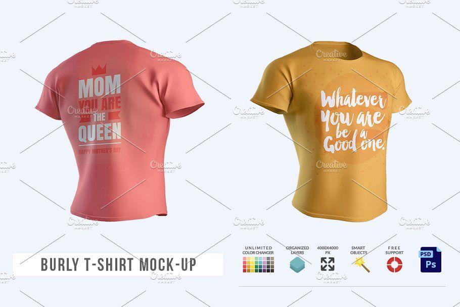 Freelancer Powerpoint Template In 2020 Tshirt Mockup T Shirt Mocking