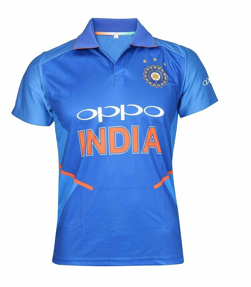 Kd World Cup 2019 Jersey Team India Cricket Uniform Supporter T Shirt 2019 Size Fashion Clothing Shoes Accessories M Shirts Cricket Uniform Cricket Store