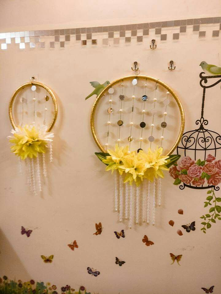 Hanging Wall Decor Diy Diwali Decorations Diwali Decorations At Home Diwali Diy