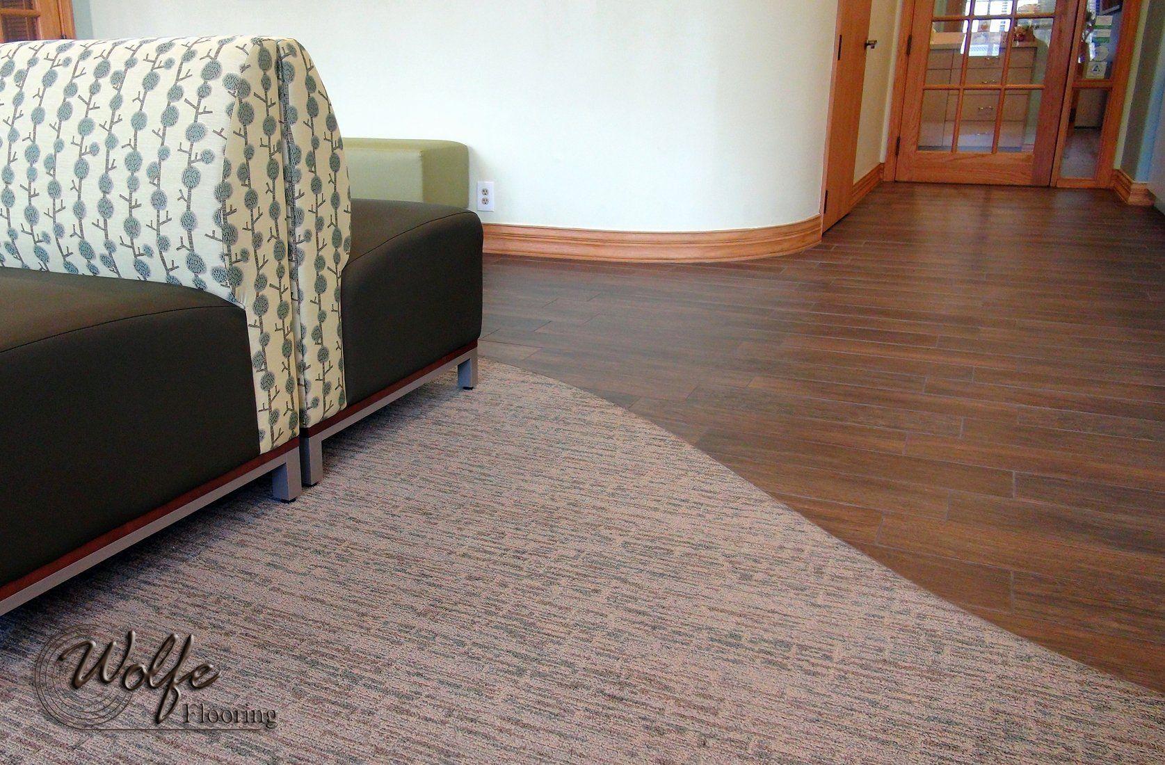 Laminate Flooring to Carpet Transition Luxury Portfolio