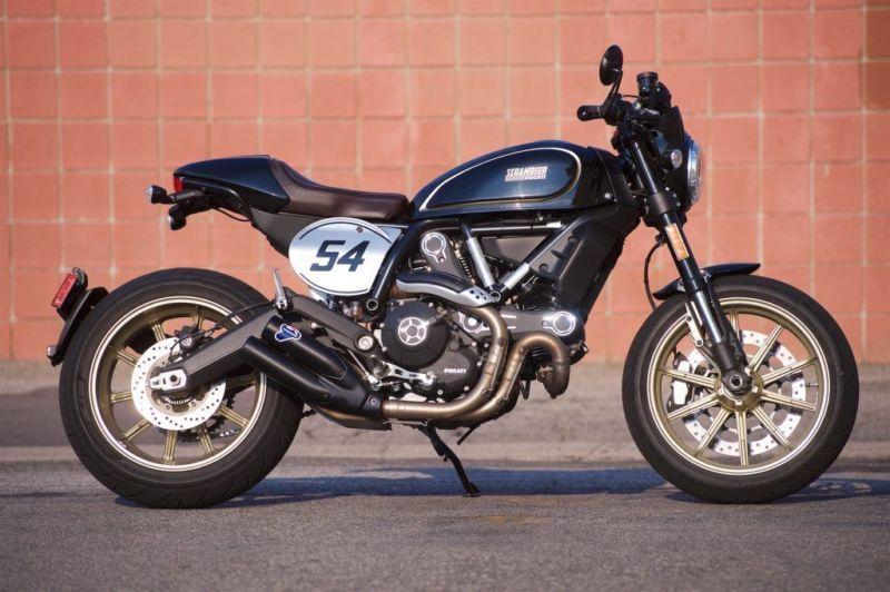 Ducati Scrambler Cafe Racer Thecustommotorcycle Co Uk Ducati Scrambler Cafe Racer Ducati