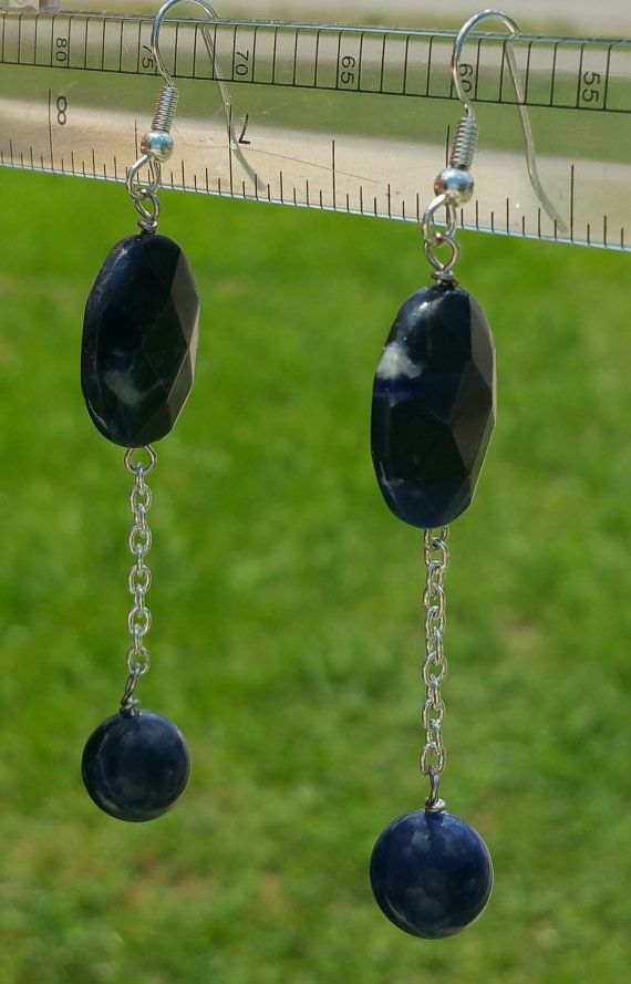 Hey, I found this really awesome Etsy listing at https://www.etsy.com/listing/221615252/gorgeous-sodalite-beaded-earrings-w