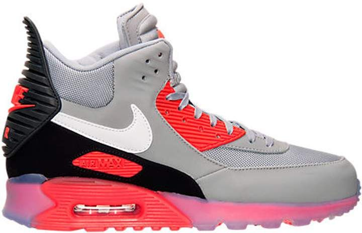 Air Max 90 Sneakerboot Ice Wolf Grey Infrared | off white