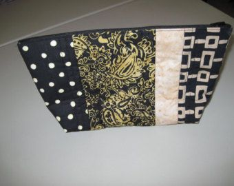 Hand-stitched Cotton Linen Sashiko Boro Quilted Bag Purse