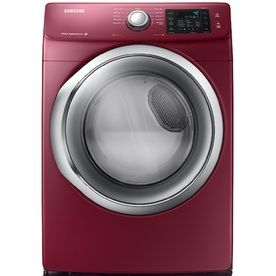 Samsung 7 5 Cu Ft Stackable Gas Dryer With Steam Cycles