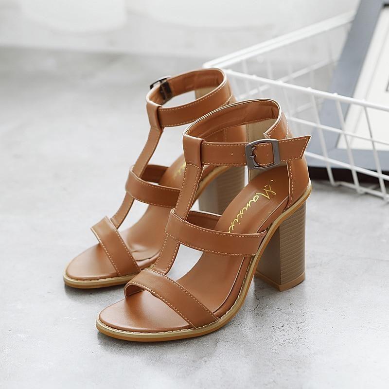Summer Peep Toe Sandals In 2020