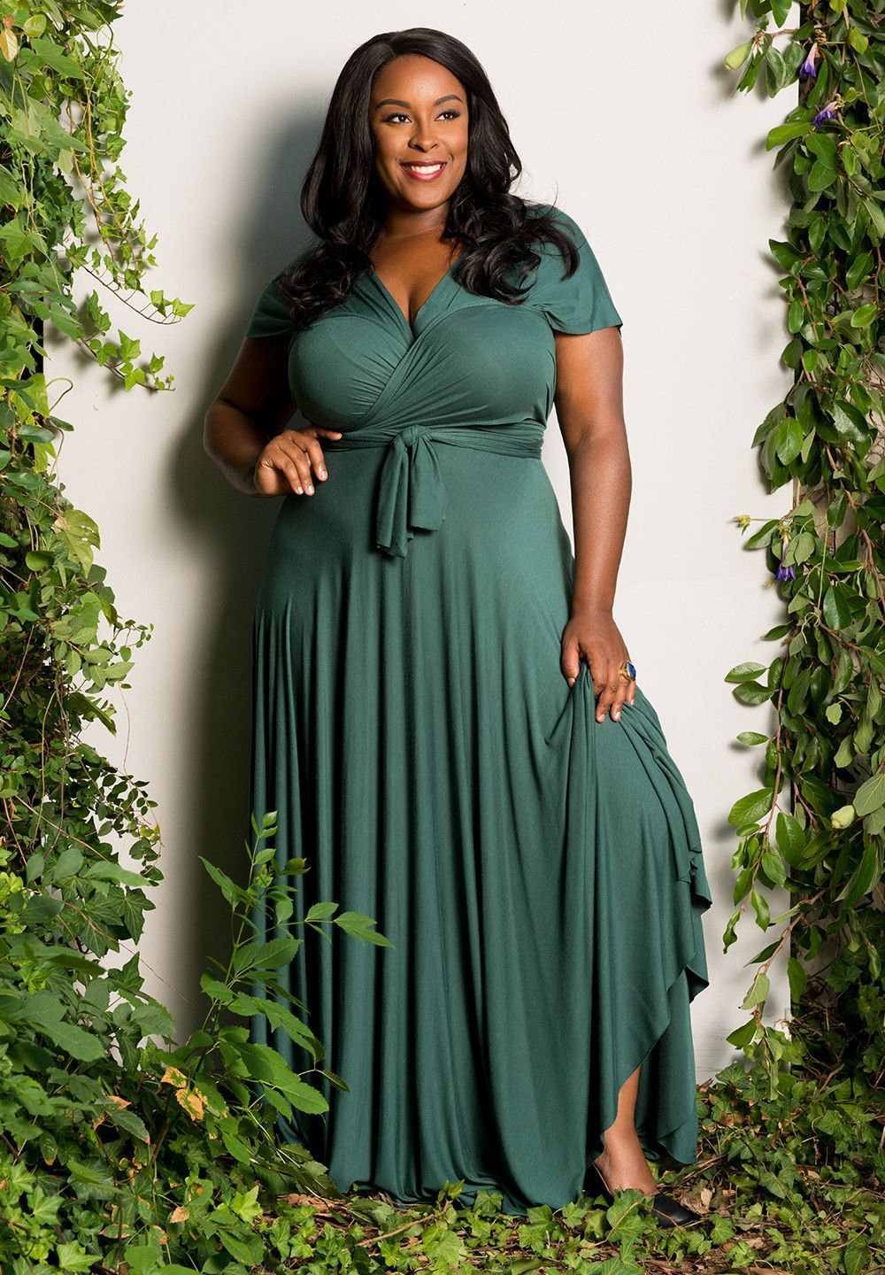 Eternity Convertible Maxi Dress - Forest