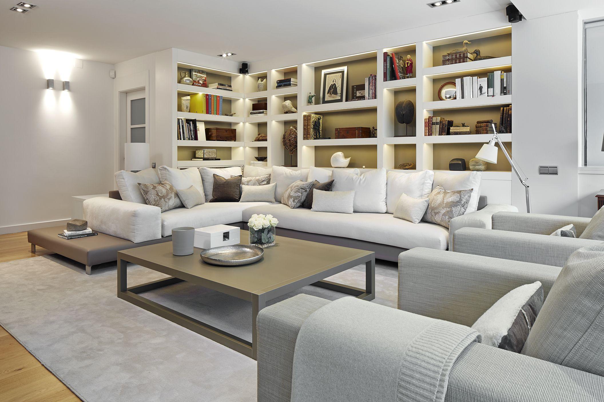 molins interiors arquitectura interior interiorismo decoracin saln sof sof - Interiorismo Salones