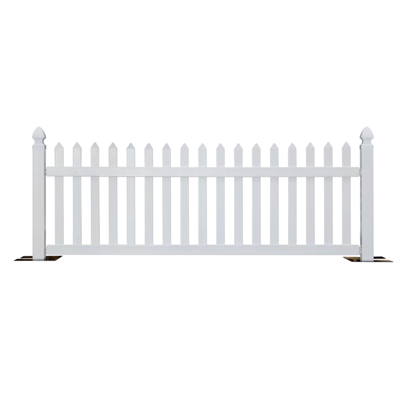 Freeport Park 3 5 Ft H X 10 Ft W Shropshire Picket Yard Fence Panel Wayfair In 2020 Fence Design Fence Panels Outdoor Screen Panels