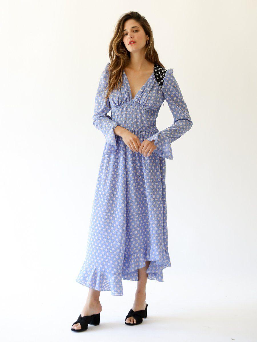 83246820aeae Freesia Dress in Diamonds Bluebell | Summertime Baby | Dresses ...