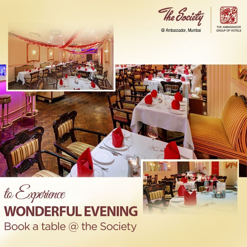 This Holidays Make Your Evening Special And Memorable With Friend Family At The Society