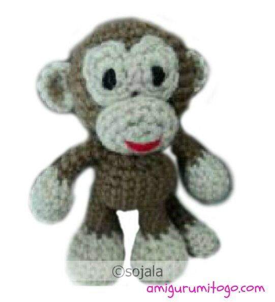 Monkey Free Crochet Pattern ~ Amigurumi To Go | Crochet Patterns ...
