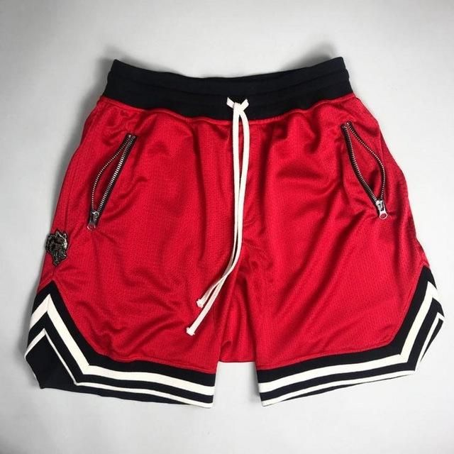 New Mens Casual Shorts Hip Hop Mesh Gym Sports Basketball Drawstring Sweatshorts