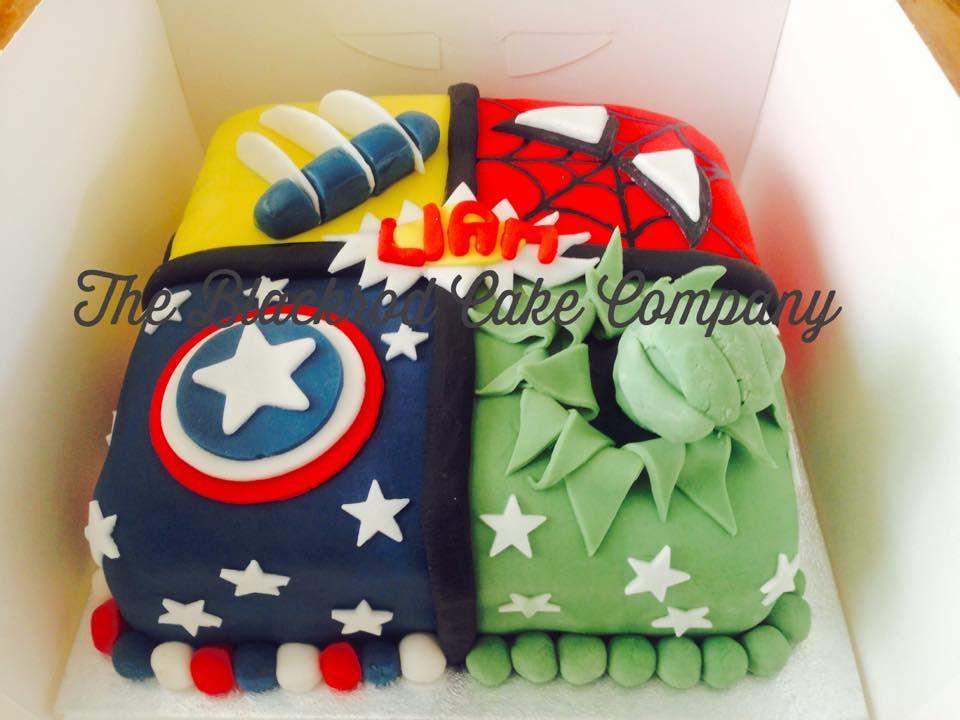 Avengers Hulk Spiderman Wolverine Captain America Birthday