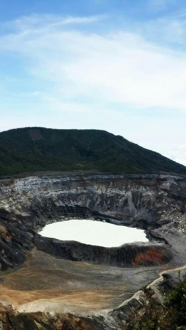 Volcán Poás. Costa Rica.