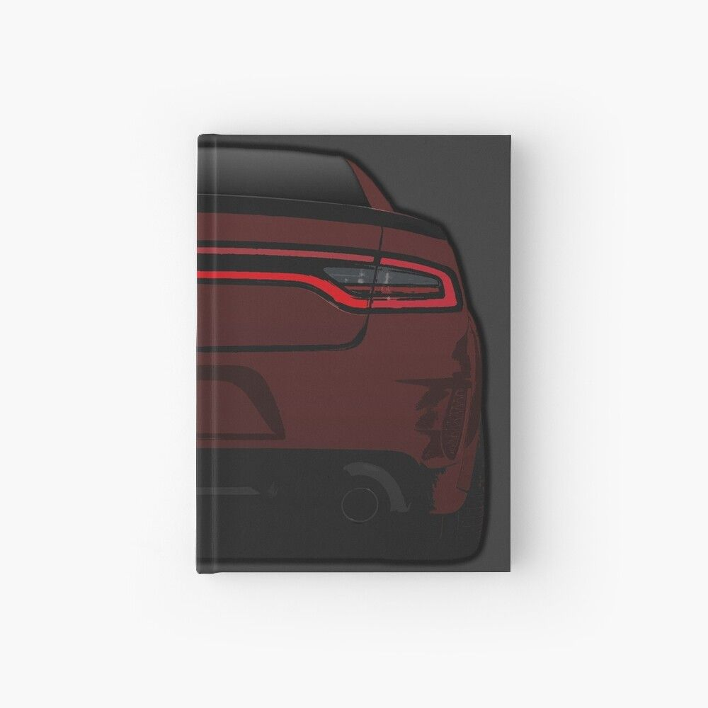 Dodge Charger Hellcat Widebody Octane Red Srt Hardcover Journal By Bakslash In 2020 Dodge Charger Hellcat Dodge Charger Hellcat