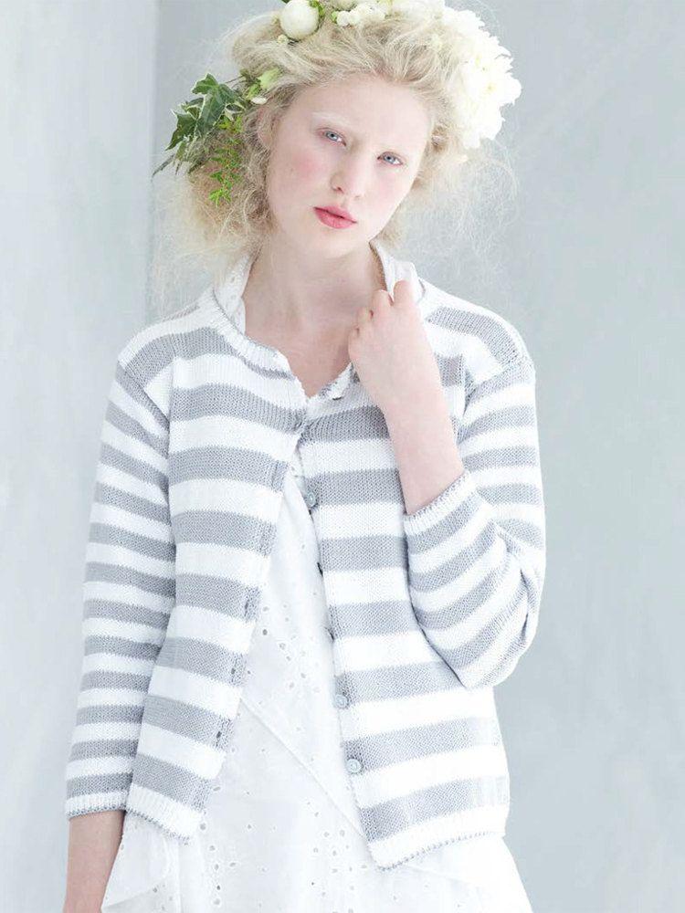 Lobelia Cardigan In Rowan Cotton Glace Rowan Yarn Needle And Knit