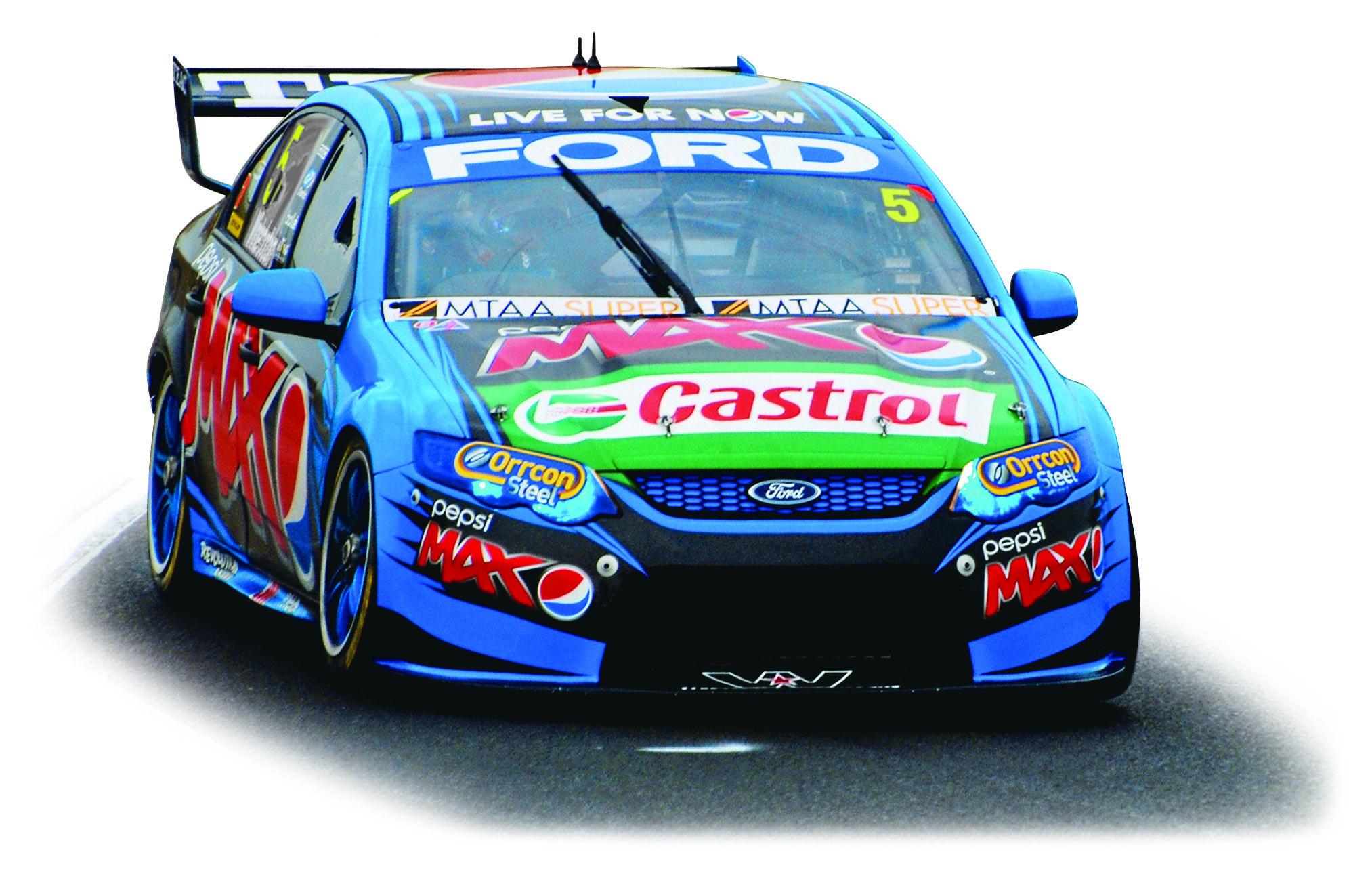 Scalextric C3582 Ford Falcon (Australia) #5 Ford 2014 season (C)