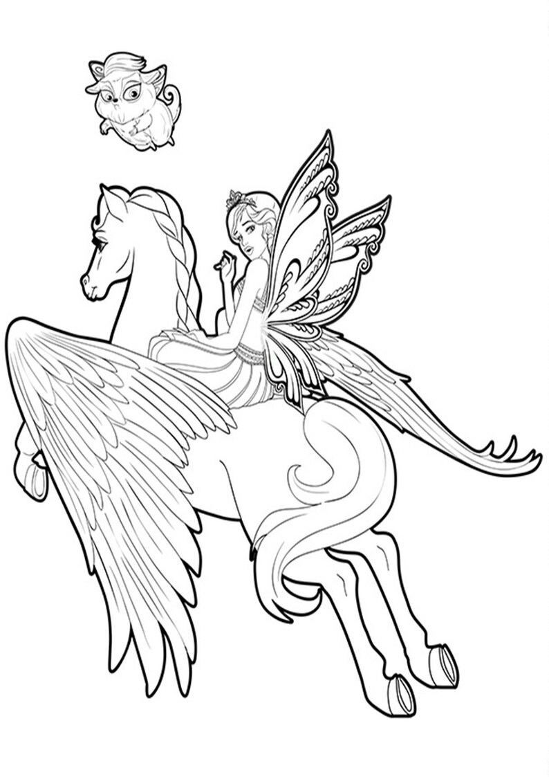 Pin On Adult Coloring Pages Fairies