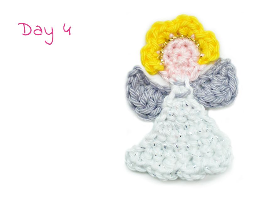 Today we have a cuddly angel for your tree! Including beautiful ...