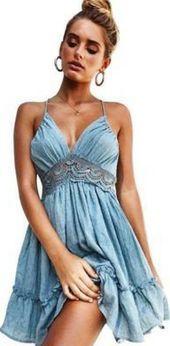 Boho Party Beach Dress #hochzeitskleiderhäkeln