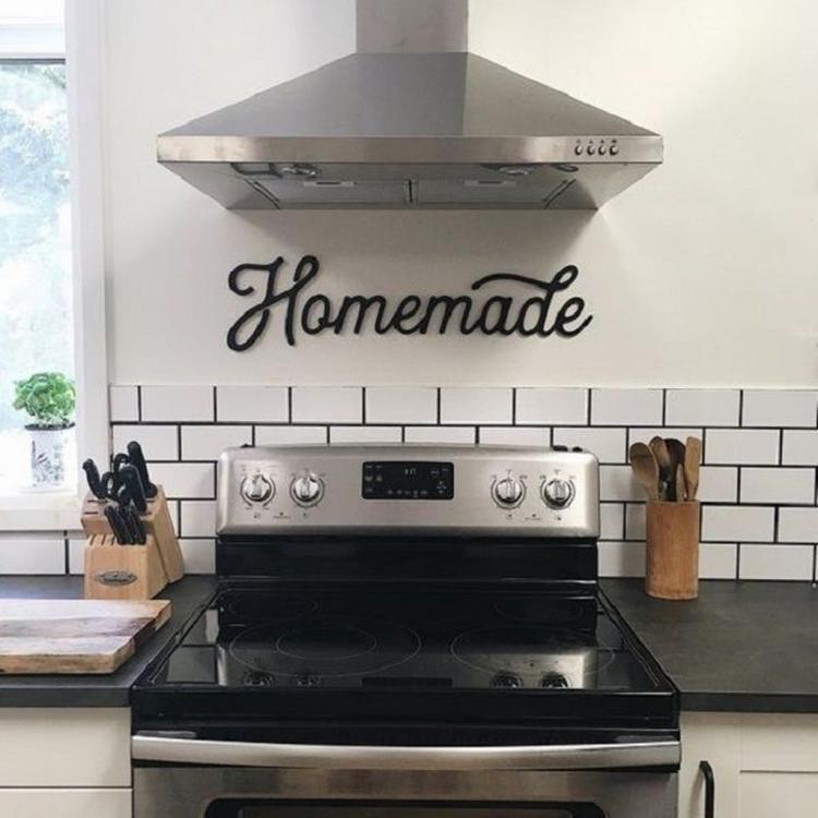 20 Elegant Kitchen Sign Design Ideas Kitchen Wall Elegant Kitchens