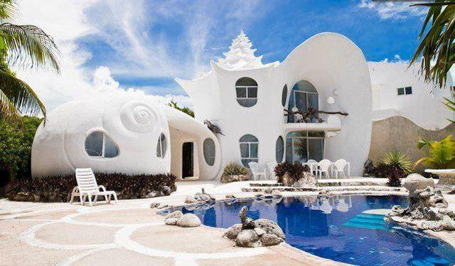 Casa Caracol, Isla Mujeres, Mexico
