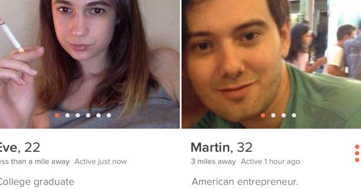 Martin Shkreli hiked up the price of AIDS drugs by 5,000%. Then he went looking for love on Tinder.