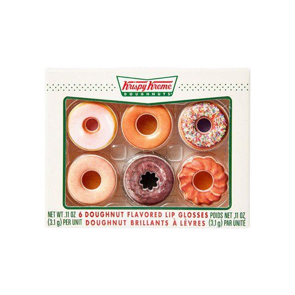 Krispy Kreme Doughnuts Flavored Lip Glosses (17) liked on