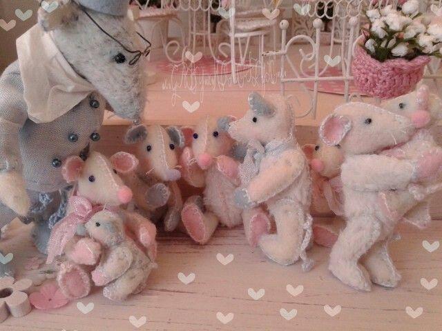 Kom maar hoor ..het is toch leuk nog meer muisjes♡ betekent nog meer vreugde in ons huisje..hihi.♡