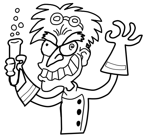 mad-scientist-coloring-pages-72 | Mad Scientist\'s Laboratory ...