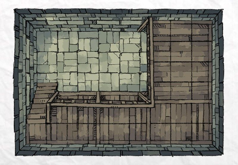 Dungeon Vault | RPG Maps in 2019 | Dungeon maps, Dungeon