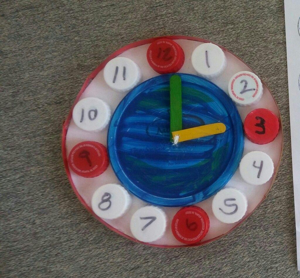 Reloj Reciclado Una Manera Divertida De Aprender La