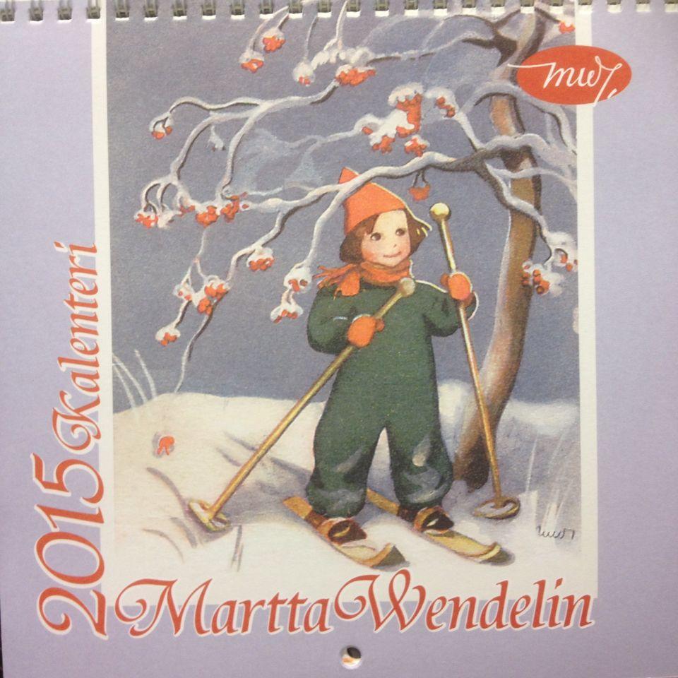 2015 Martta Wendelin calendar