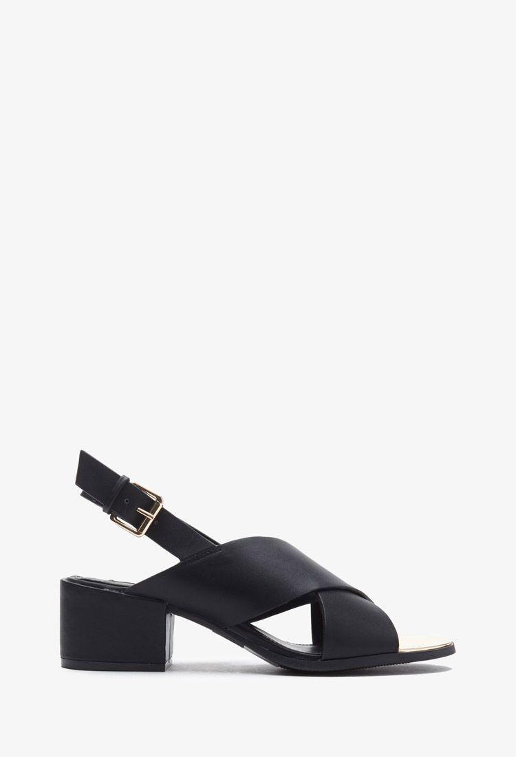 da3e1e8996dc Crisscross-Strap Slingback Sandals