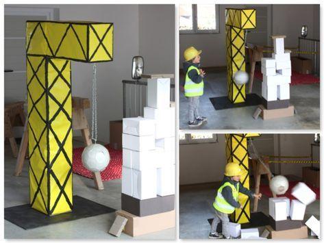 Photo of Unser DIY-Baustellenkran war das große Highlight. Hier durfte jeder Bauarbeiter…