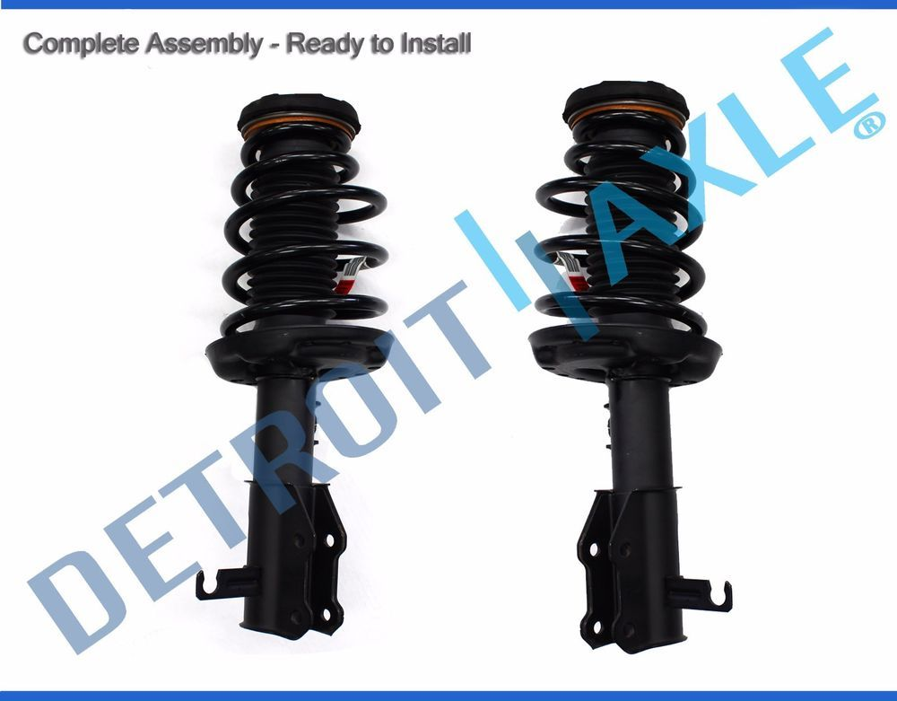 2 New Genuine Gm Oem Complete Front Strut W Spring Mount Quick Assemblies Detroitaxle Buick Chevrolet Gm Suv Autom The Struts Installation Mounting