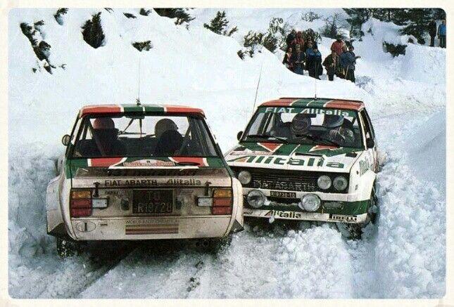 M Alen Fiat 131 Abarth Portugal Rallye Con Imagenes