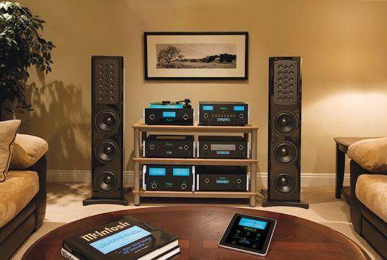 McIntosh Sound System | mcintosh x john varvatos custom built soho audio system