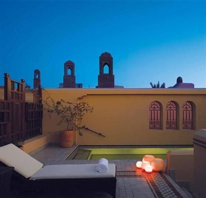 Royal Mansour hotel in Marrakech