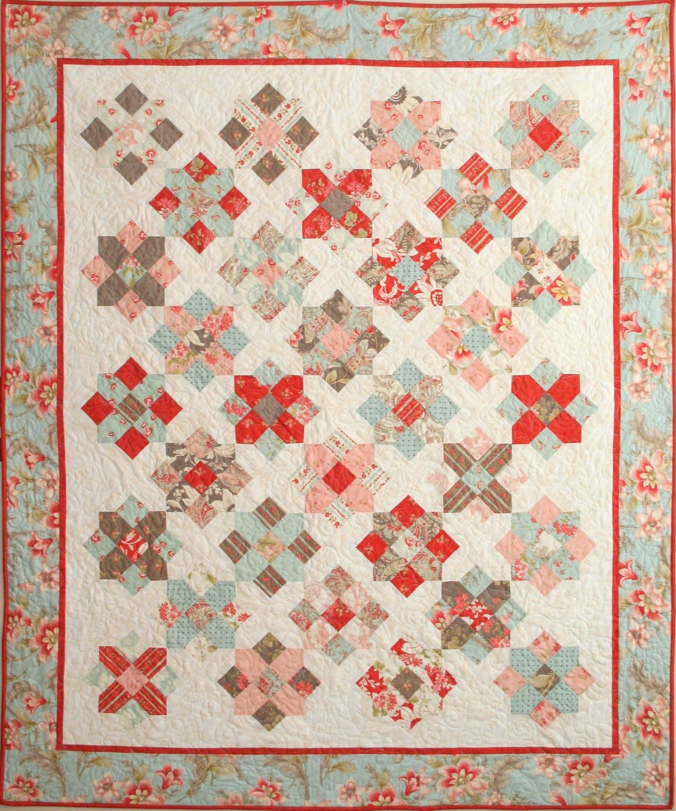 Love That 3 Sisters Fabric Quilts 2 Layer Cake Quilt Patterns