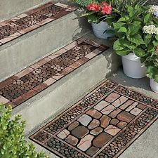 Best Outdoor Stones Door Mat Or Stair Treads Rugged Material Is 400 x 300