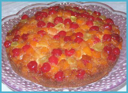 Cake recipes using fruit cocktail