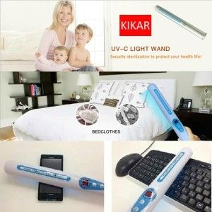 Portable Uv Sanitizer Hand Wand Ultra Violet Light Kill Bacteria