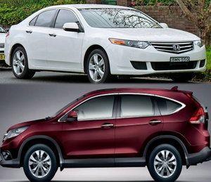Honda To Recall 1338 Accord And Cr V Cars To Fix The Passenger Side Air Bag Inflator Air Bag Honda Cr V